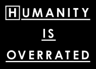 T-shirt Dr House - Humanity is overrated