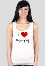 "Koszulka 2 ""I love ski jumping"" 1"