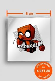 FACEPALM Blow! - Wlepka!