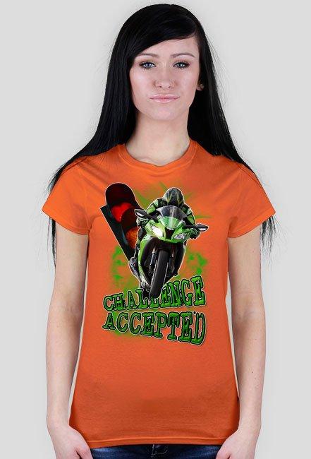 Challenge Accepted koszulka damska