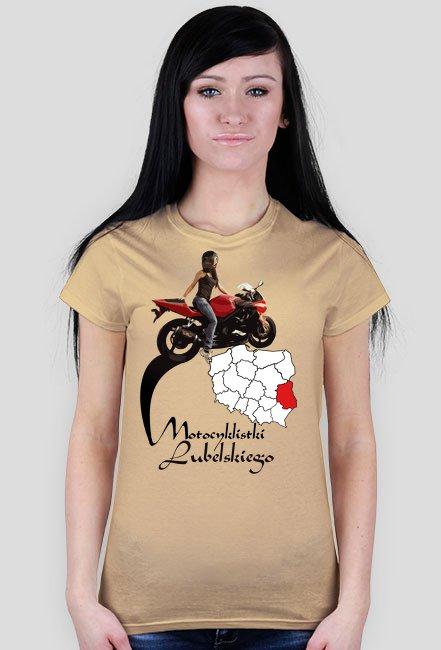 Motocyklistki lubelskiego - koszulka damska