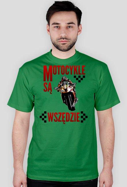 Motocykle są wszędzie koszulka