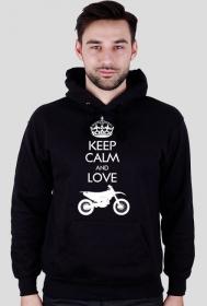 Keep calm and love enduro - koszulka motocyklowa