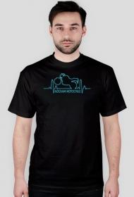 Kocham motocykle EKG - koszulka męska