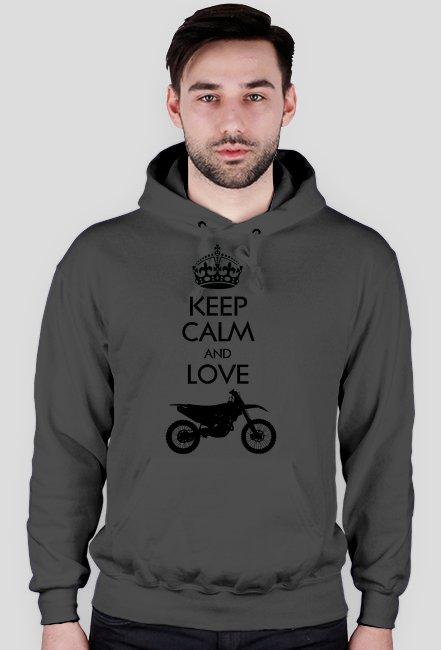 Keep calm and love enduro - bluza motocyklowa