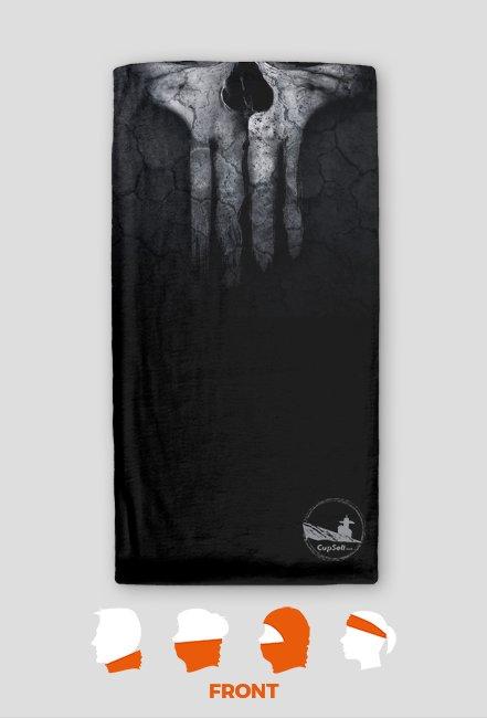 Skull - Czaszka - Komin motocyklowy