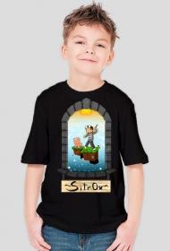 SkyBlock - Dziecięca - Czarna