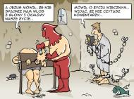 satyra ewangeliczna- męczennicy