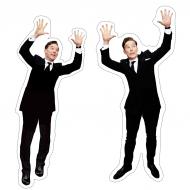 Benedict Cumberbatch photobomb - naklejki