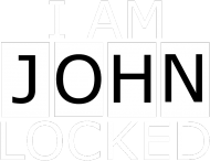 I am Johnlocked -  torba