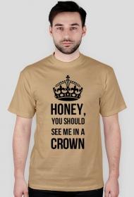 Moriarty w koronie - koszulka męska