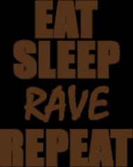 Bluza damska - Eat, sleep, rave, repeat