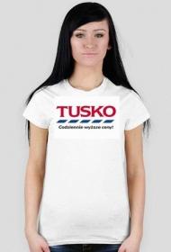 Tusko, codziennie wyższe ceny!