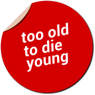 Too old to die young koszulka damska
