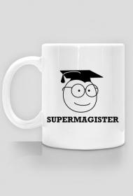 Prezent obrona pracy magisterskiej - kubek Supermagister