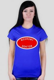 Wzorowy doktor - koszulka damska