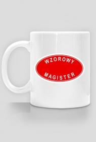 Prezent dla magista - kubek Wzorowy magister