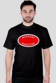 koszulka wzorowy nauczyciel - prezent dla nauczyciela