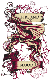 koszulka Gra o tron - Fire and Blood