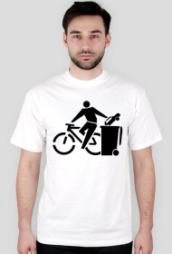 Rower - koszulka męska