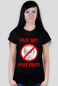 Anty Putin koszulka damska