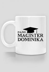 Kubek Pani Magister z imieniem 2-stronny