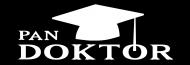 obrona doktoratu - pan doktor czarna koszulka