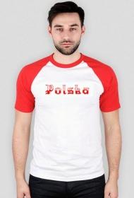 Koszulka Polska - biało-czerwona męska