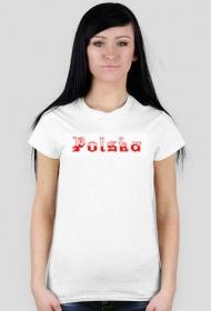 Koszulka Polska - damska