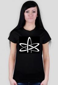 koszulka ateistyczna damska