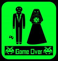 koszulka Wieczór kawalerski - game over