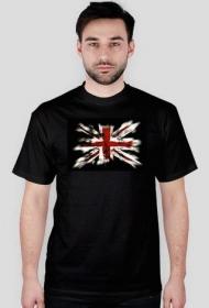 Koszulka z flagą Wielkiej Brytanii