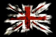 Flaga brytyjska koszulka damska