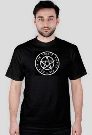 Wicca pentagram 5 żywiołów - T-shirt męski