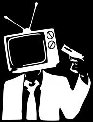 No TV - koszulka damska czarna