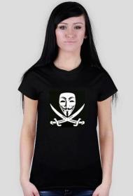 Anonymous - koszulka damska