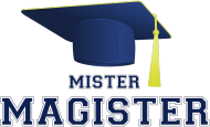 Prezent na obronę pracy magisterskiej - mister magister