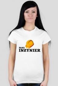 Pani inżynier - koszulka biała