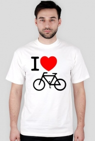 Koszulka I love rower
