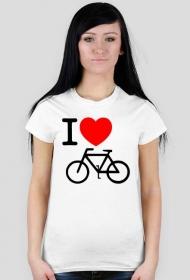 I love rower - koszulka damska