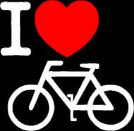 I love rower - czarna