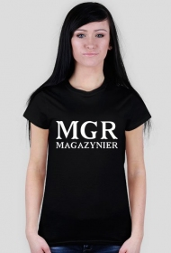 mgr magazynier koszulka damska