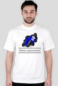 Koszulka z motorem - lubię zapierdalać