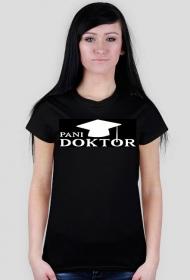 Prezent na obronę doktoratu - koszulka pani doktor cz