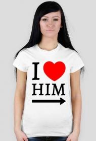 Koszulka I love him
