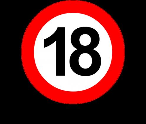 Prezent na 18 urodziny - kubek Koniec zakazów