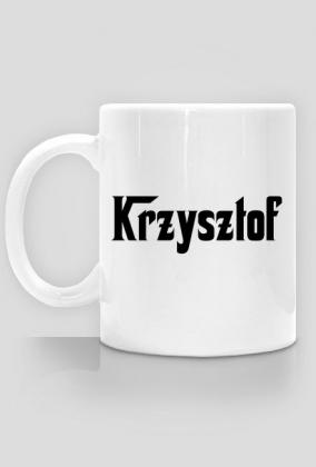Kubek z imieniem Krzysztof