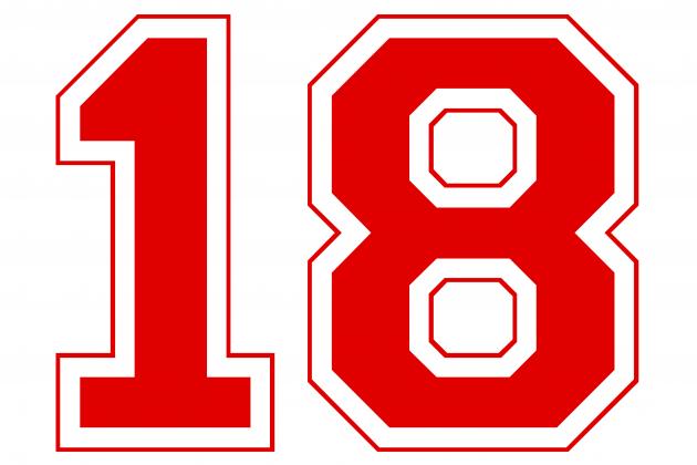 Na 18 urodziny - koszulka baseball
