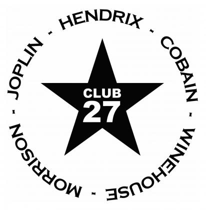 Klub 27 - Hendrix, Cobain, Winehouse, Morrison, Joplin