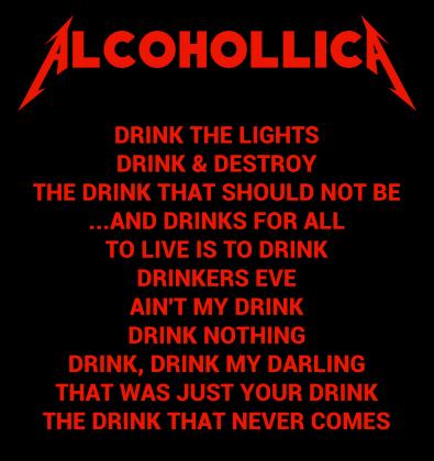 koszulka Alcohollica 2-stronna